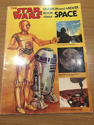Rare Vintage 1979 STAR WARS Questions & Answer Book About SPACE