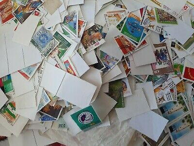 100+ difference sri lanka used stamps all large collection lot kiloware