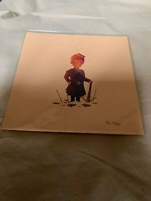 Game Of Thrones Olly Moss 5x5 Print Joffrey