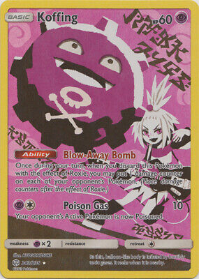 Pokemon SM - Cosmic Eclipse Koffing (Secret) 243/236 Secret Rare NM
