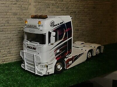 Wsi Volvo, Ideal for Code 3 1:50 Scale Tekno Daf 6 Lamp Roof Bar Scania