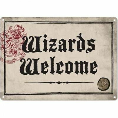 Harry Potter A5 Metal Wall Sign