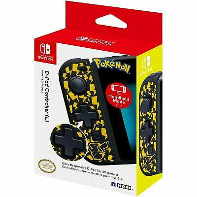 Hori D-Pad Controller (L) - Pokemon Pikachu For Nintendo Switch NS