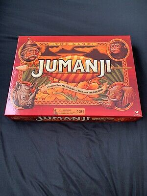 JUMANJI BOX BOARD GAME  2017 EDITION, complete