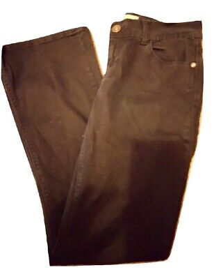 Ladies Jeans Denim Trousers Bootcut Black Next Size 10