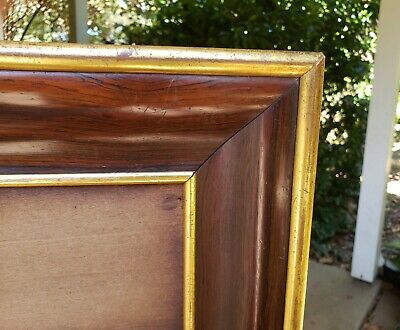 c1870 Excellent Victorian Rosewood W. L. Germon Tintype Ambrotype Photo Ogee Frm