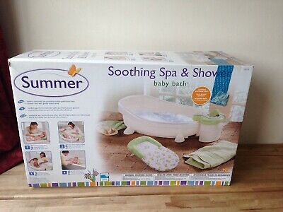 Summer Soothing Spa and Shower Baby Bath BOXED VGC