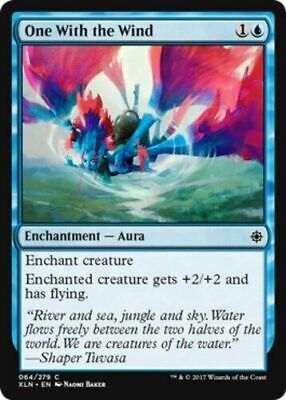 One With The Wind X 4 N/M Ixalan Magic The Gathering