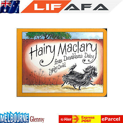 Hairy Maclary from Donaldson's Dairy by Lynley Dodd - Book Xmas Gift for Kids
