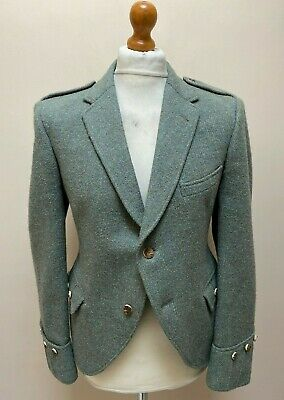 Vintage Scottish highland Lovat tweed jacket size 42