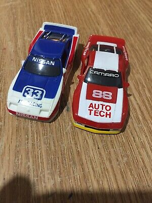 AFX TOMY HO Slot Car Body Lot (Nissan, Camaro) New Old Stock
