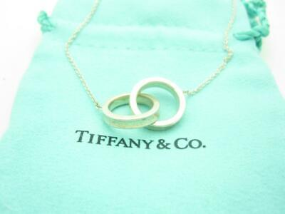 Tiffany & Co. Sterling Silver 1837 Collection Interlocking Circles Necklace 20""