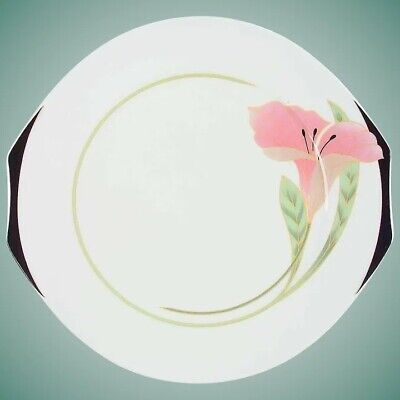 Set of Eight Villeroy & Boch Lunch/Salad/Dessert Plates Porcelain China Iris
