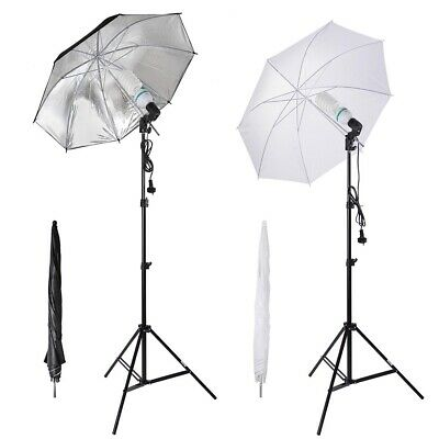 Photography Umbrella Light Kit LED Photo Studio Continuous Lighting Stand Set