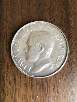 BERMUDA EDWARD VIII 1936 SILVER CROWN by HEARN