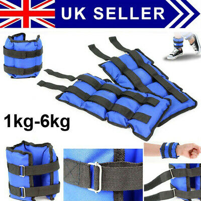 Wrist Ankle Weights Resistance Strength Training Exercise Bracelets Straps Gym U