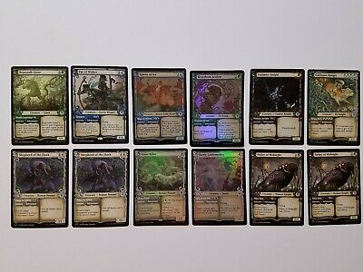 MTG Throne of Eldraine Showcase Foil Lot Giant Killer, Fae of Wishes, Foulmire
