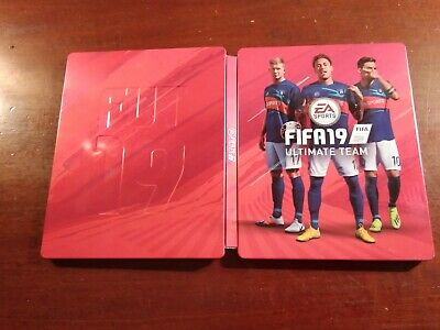 PlayStation 4 ps4 xbox one Fifa 19 ultimate team steelbook metal tin NO GAME