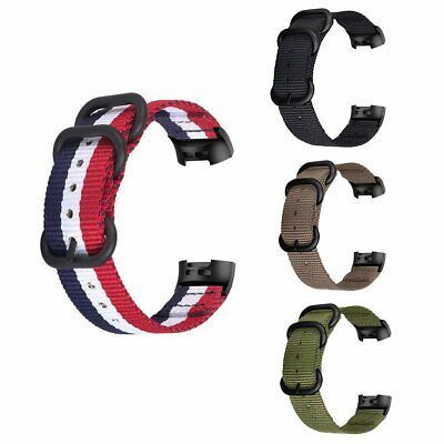 Nylon Bands For Fitbit Charge 3 Breathable Straps Watch Band Charge Watchband UK