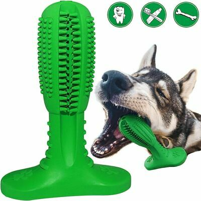 Dog Toothbrush Toy Clean Stick Teeth Chew Toy Silicone Pet Brushing Dental Care