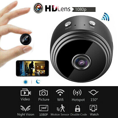 A9 WiFi 1080P HD Mini Hidden Security Spy Camera Night Vision Wireless IP Camera