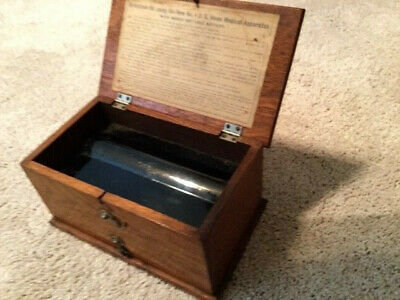 Antique Late 1800s Quack Med No.4 D.D. Home Medical Apparatus — Solid Oak Box