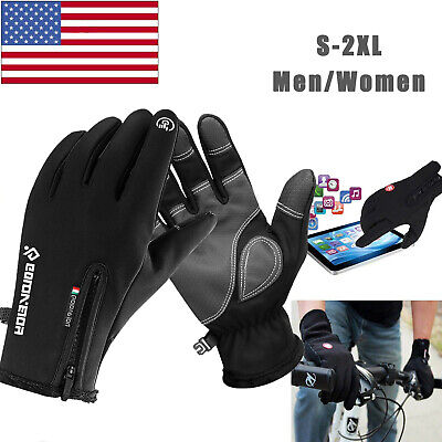 Winter Thermal Skiing Gloves Touch Screen Waterproof Windproof Cycling Men Women