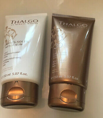 Thalgo Sun Lotion Factor 30, 150ml, & Thalgo After sun , 150ml, New
