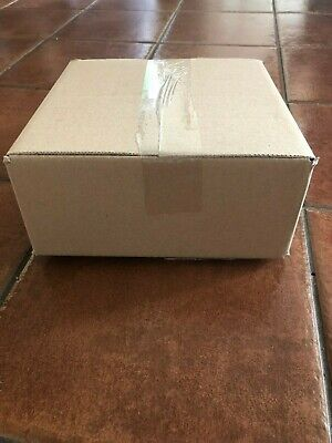 90x Job lot single wall packing mailing cardboard boxes 22cm Square 10cm Depth