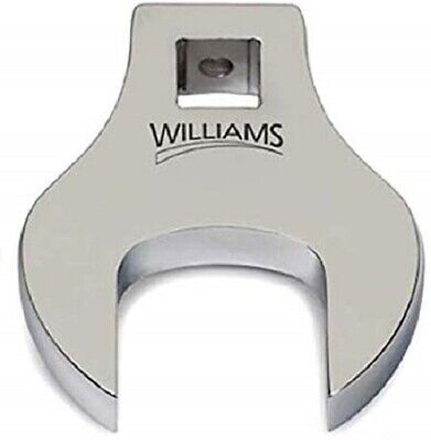 "1/2"" Drive Crowfoot Wrench Open-end, SAE - Williams"