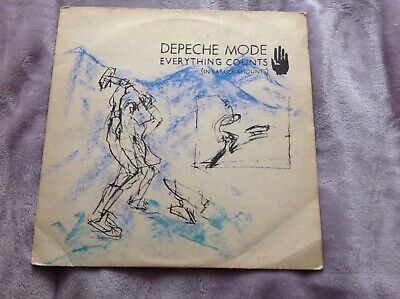 Depeche Mode - Everything counts in larger amounts vinyl 12 inch single