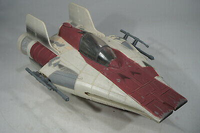 "Kenner Star Wars POTF2 A-Wing Fighter Raumschiff für  3 3/4"" Figuren"