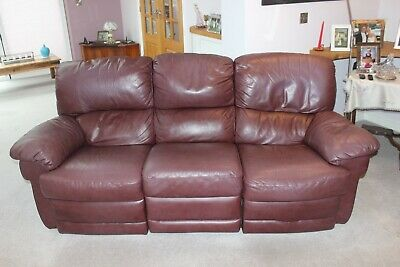 Tremendous Quality Nicoletti Genuine Top Grain Leather 3 Seater Sofa In Ncnpc Chair Design For Home Ncnpcorg