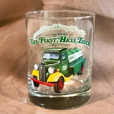 Brand New Complete Set of 4 Hess 1996 Truck Series Glasses