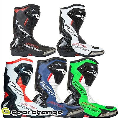RST Pro Series Motorrad Sports Race Boots-CE genehmigt