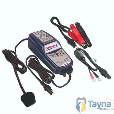Optimate 5 Voltmatic 6V/12V 4A Motorfiets Batterij Charger & Optimiser