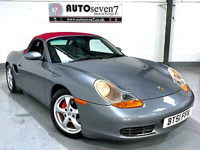 Porsche Boxster 2.7 auto 2002MY Tiptronic S ***RARE RED HOOD AND LEATHER***