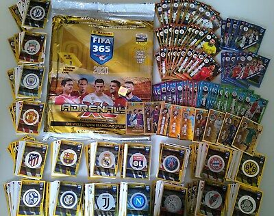 Panini Fifa 365 2020 Adrenalyn Xlstarter Pack Complete Set Serie 423 Cards Top