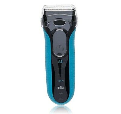 Braun Series 3 ProSkin Wet and Dry Electric Shaver - Blue 3010s