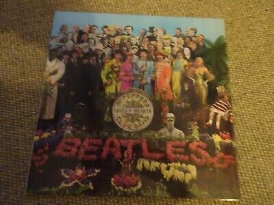 ORIGINAL RARE THE BEATLES SGT PEPPERS LONELY HEARTS CLUB BAND Vinyl LP Album