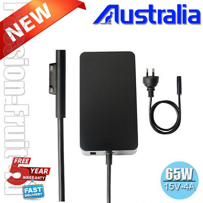 AC Power Supply Adapter Charger for Microsoft Surface Pro 3 4 5 6 Go 65W 15V 4A