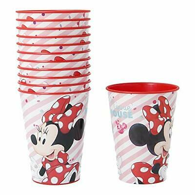 Pack 12 Vasos Para Cumpleaños | Minnie Electric Doll