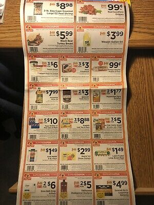 3 Sets Of Shoprite Super Savers + 1 Sheet Wendys