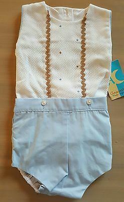 Beautiful spanish/romany baby girl or boys top,pants/outfit 6months.