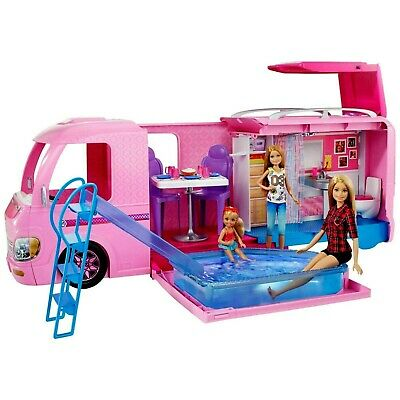 Barbie DreamCamper Adventure Camping Playset with Accessories! WOW! HOT TOY 2019