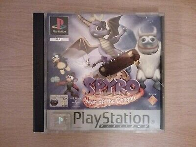 PS1 Spyro Year of the Dragon videogame/SNES/Megadrive/console/bundle