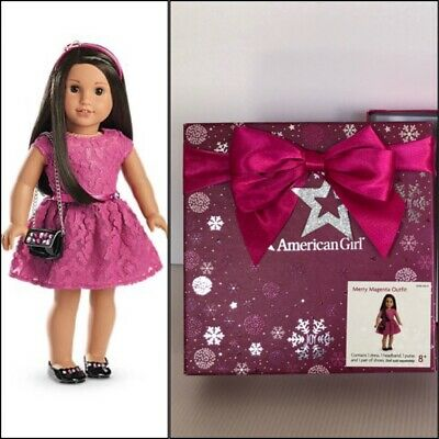 American Girl Merry Magenta Outfit In Christmas Box