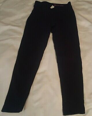 Crewcuts Girls SIze 8 Cozy Leggings Pants Navy