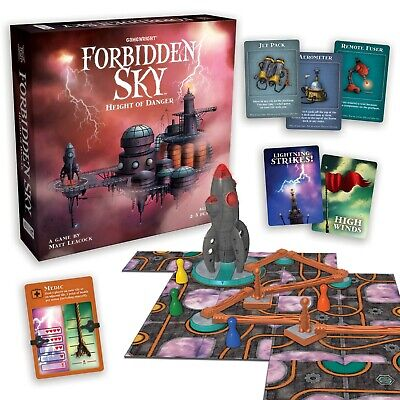 NEW Gamewright Height of Danger Forbidden Sky Board Game