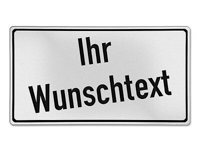 Individual Rectangular Traffic Sign with Desired Text S133
